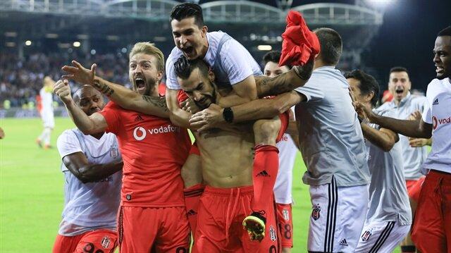 Beşiktaş, Negredo'nun son dakikada attığı golle tur atlamıştı.