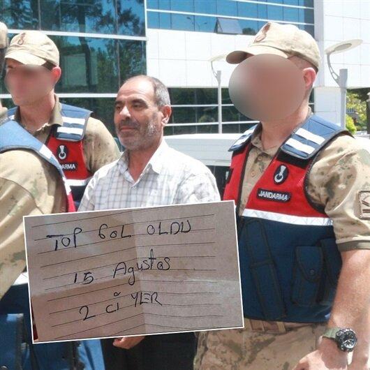 HDP'li başkanın cebinden çıkan not şok etti