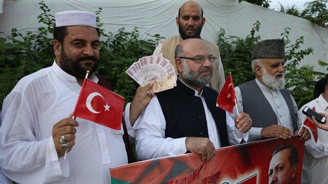 باكستانيون يدعون إلى الوقوف مع تركيا ضد الحرب الاقتصادية التي تواجهها