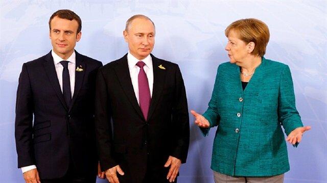 Merkel: İstanbul'da dörtlü Suriye zirvesi anlamlı olabilir