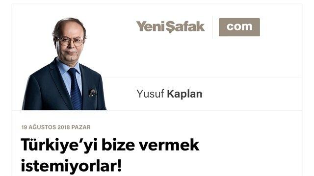 Türkiye'yi bize vermek istemiyorlar! Alabilecek miyiz, peki?