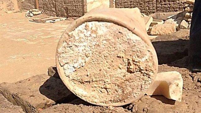 """اكتشاف أقدم قطعة """"جبن"""" في التاريخ بمقبرة فرعونية"""