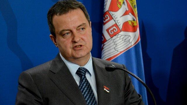 Sırbistan'dan Türkiye'ye destek mesajı