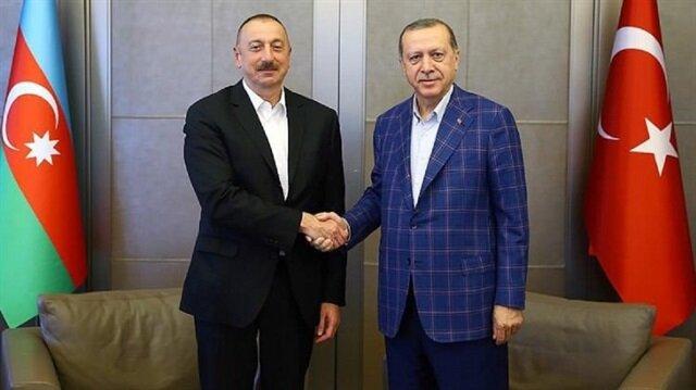 علييف يهنئ أردوغان بإعادة انتخابه رئيسًا لـ