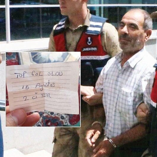 HDP'li başkanın cebinde PKK notu