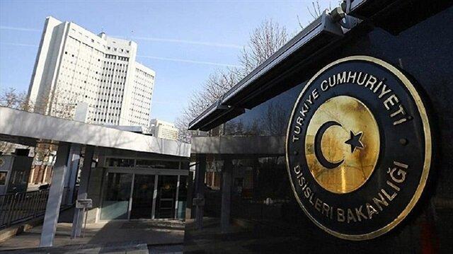 الخارجية التركية تدين الاعتداء على السفارة الأمريكية في أنقرة