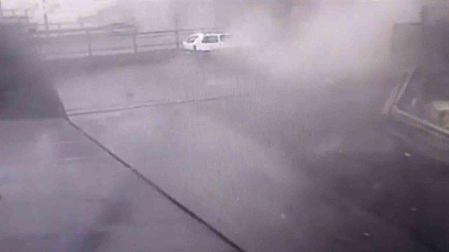 Cenova'daki köprünün yıkılma anına ait yeni görüntü