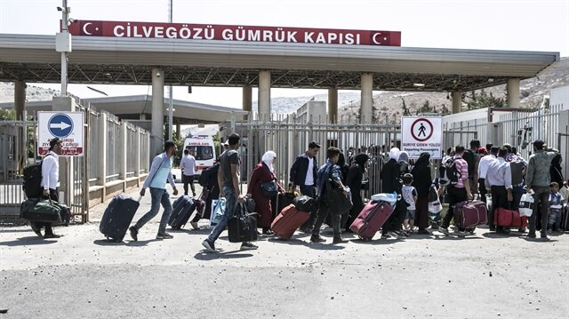 47,000 more Syrians in Turkey back home for Eid al-Adha