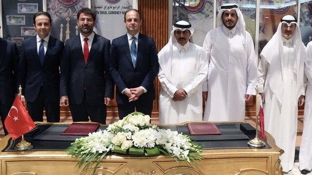 Turkish, Qatari central banks ink currency swap deal