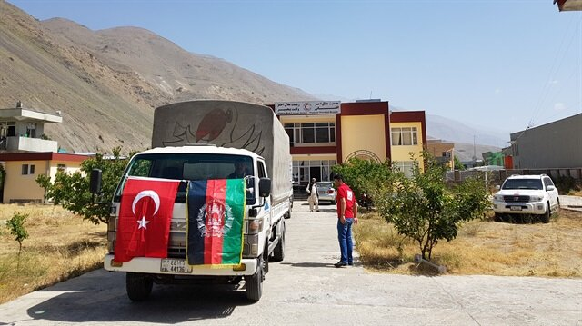 Turkish agency distributes food aid in Afghanistan