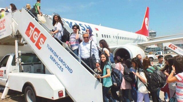 Tatilin ilk günü750 bin yolcu