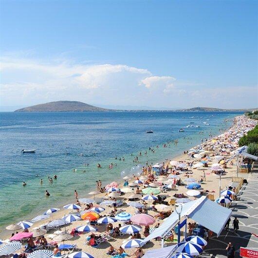 'Balıkesir'e 1,5 milyon tatilci geldi'