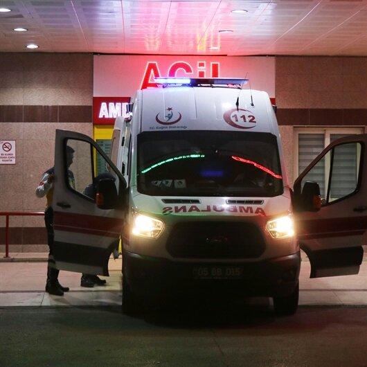 Tunceli'de teröristlerin yerleştirdiği mayına basan kadın yaralandı
