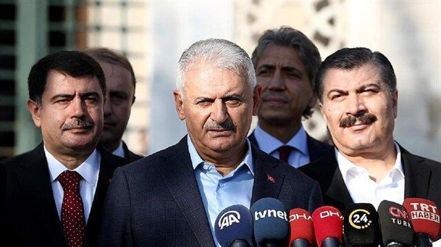 يلدريم: أمن كل الضيوف والدبلوماسيين من أهم واجباتنا