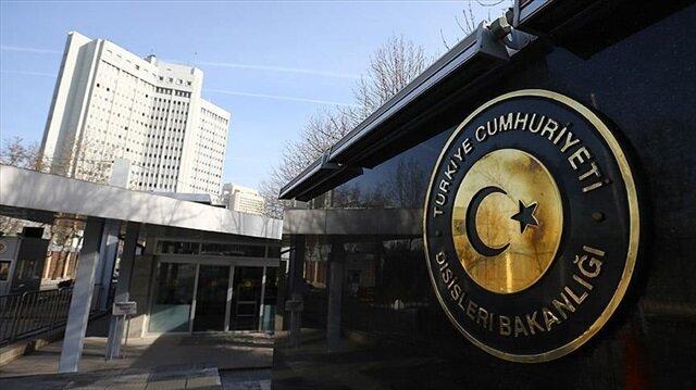 Dışişleri Bakanlığı: Yunanistan skandal bir karara imza attı