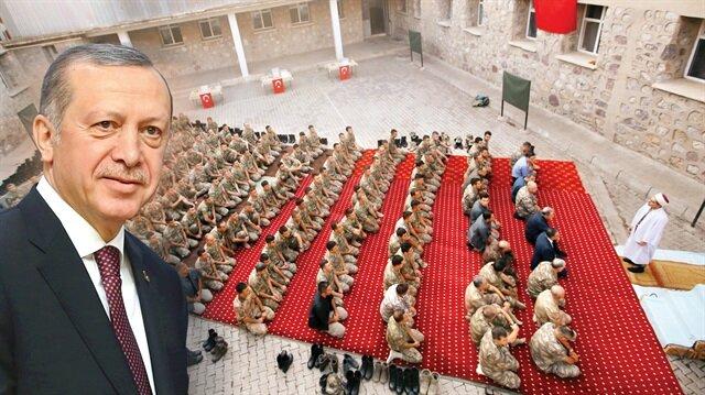 Başkan Erdoğan, Milli Savunma Bakanı Akar ve İçişleri Bakanı Soylu'nun telefonundan askerlere seslendi
