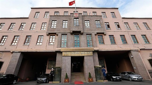 The national Ministry of Defense responds to Greece