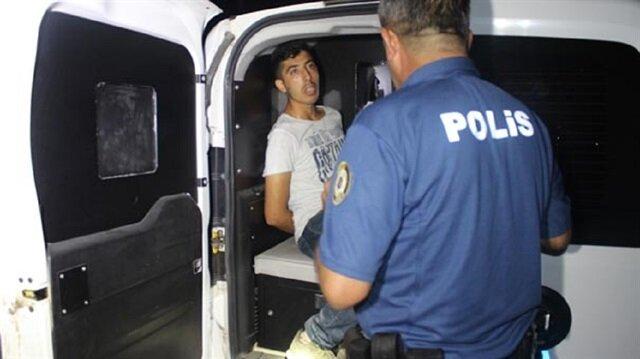 Adana'da hırsızlık şüphelisi polisler tarafından yakalandı