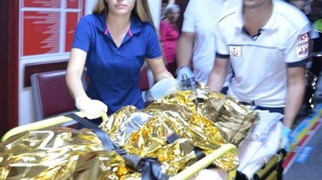 Çanakkale'de çıkan yangından 5 yaşındaki çocuk hayatını kaybetti.