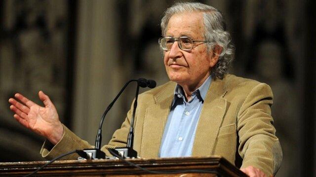 Chomsky: İsrail'in ABD'ye müdahalesi görmezden geliniyor