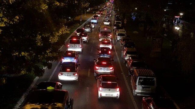 İstanbul'a dönüşte trafik yoğunlaştı
