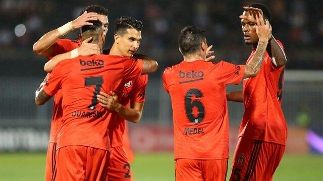 Beşiktaş, Partizan ile deplasmanda 1-1 berabere kaldı.