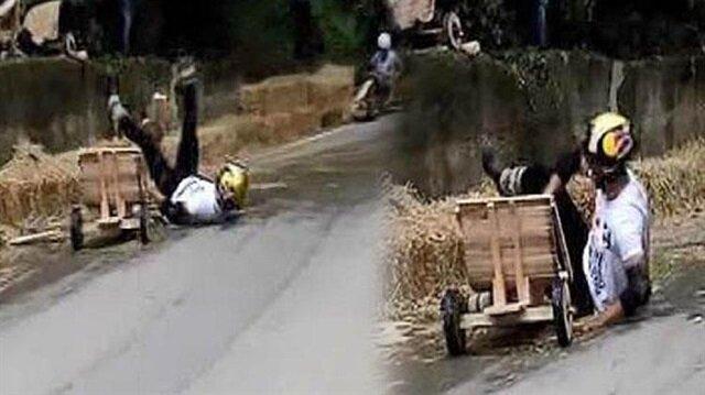 Kenan Sofuoğlu'nun Formulaz'da geçirdiği kaza