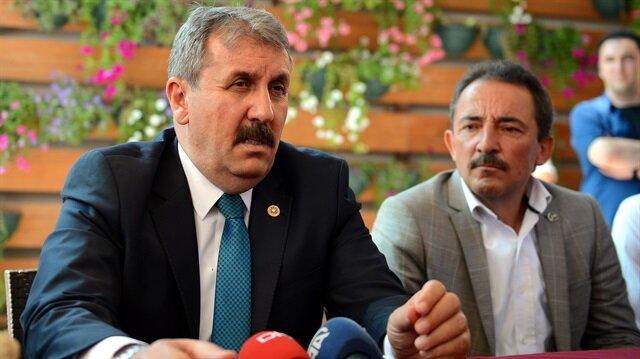 BBP lideri Mustafa Destici