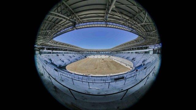 20 bin kişi kapasiteli yapılan Yeni Ordu Stadyumu.