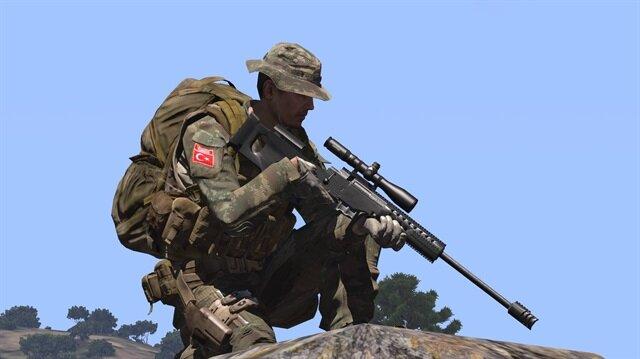 Kırmızı listedeki PKK'lının keskin nişancı ateşiyle öldürüldüğü ortaya çıktı.