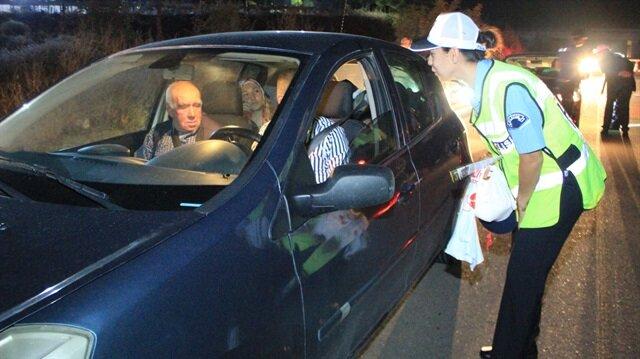 Bilecik'te sürücülere ücretsiz yemek ve mola uygulaması başlatıldı.
