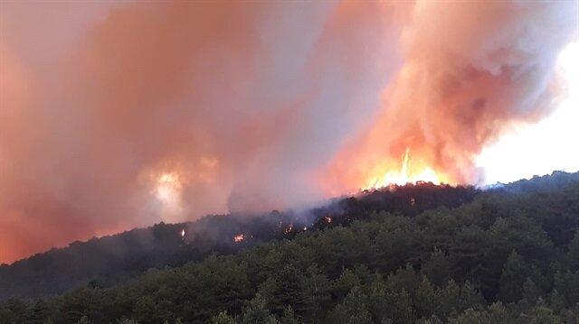 Kastamonu'daki yangının kontrol altına alındığı ve ekiplerin soğutma çalışmalarına devam ettiği açıklandı.