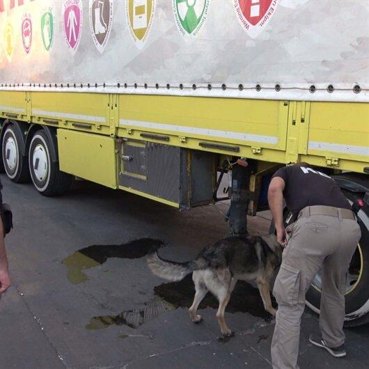 Şırnak'ta 17 kilogram eroin ele geçirildi