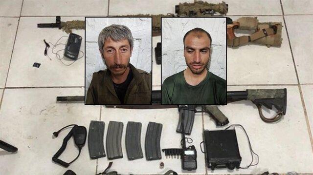 Düzenlenen operasyon sonucunda 2 BTÖ mensubu sağ yakalanırken, beraberinde 1 kanas ve 1 m16 da ele geçirildi.