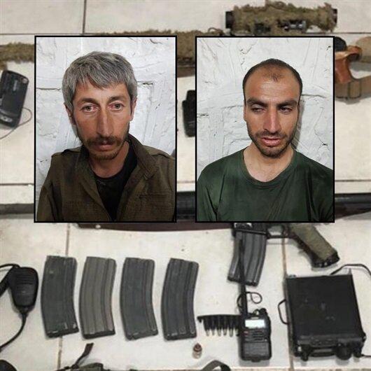 Şırnak'ta 2 PKK'lı sağ olarak ele geçirildi