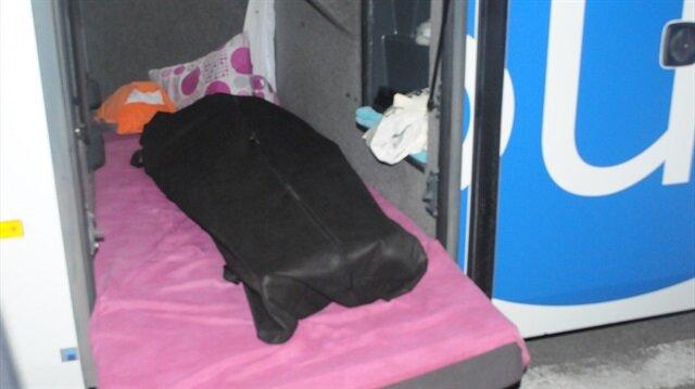 Otobüs şoförü, uyumak için girdiği bagajda ölü bulundu. Arşiv.