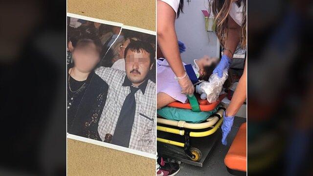 Karısını bıçakladı balkondan atıp üzerine saksı fırlattı