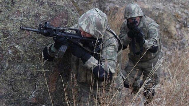 Çıkan çatışmada PKK'lı bir terörist etkisiz hale getirildi.