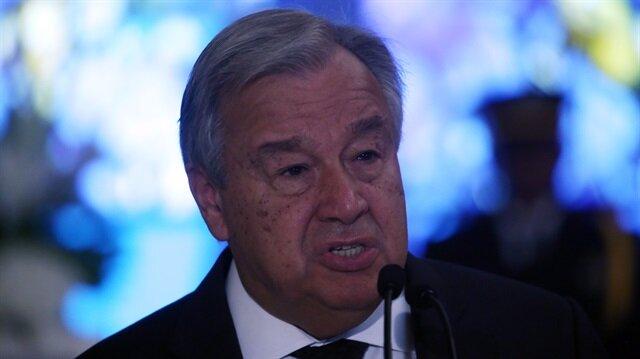 BM Genel Sekreteri Guterres'ten Suriye'de insani felaket uyarısı