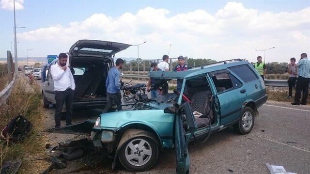 Trafikte 'hız' hayatlara mâl oldu