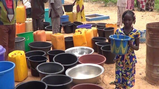 Türkiye'den Nijer'e hayat suyu