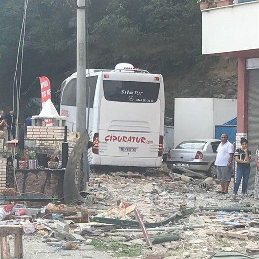Katliam gibi kaza: Ortalık savaş alanına döndü