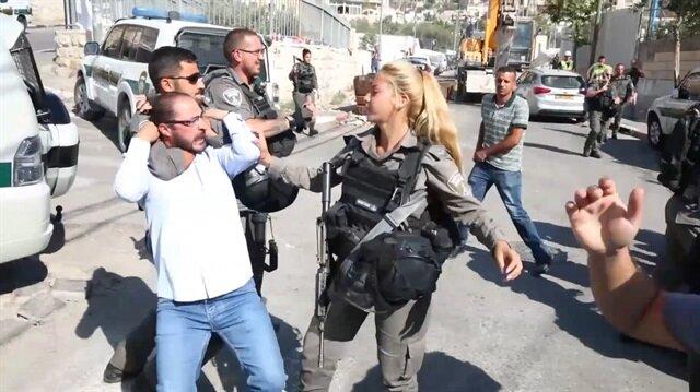 Siyonist İsrail Filistinlilerin mülklerini yıktı!