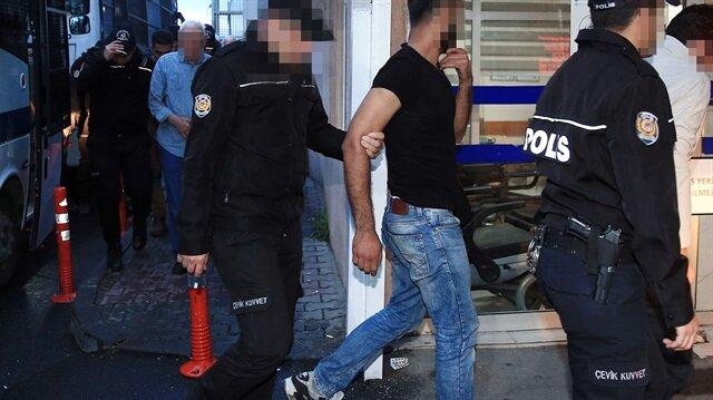 Gaziantep'te terör operasyonları: 8 şüpheli gözaltına alındı