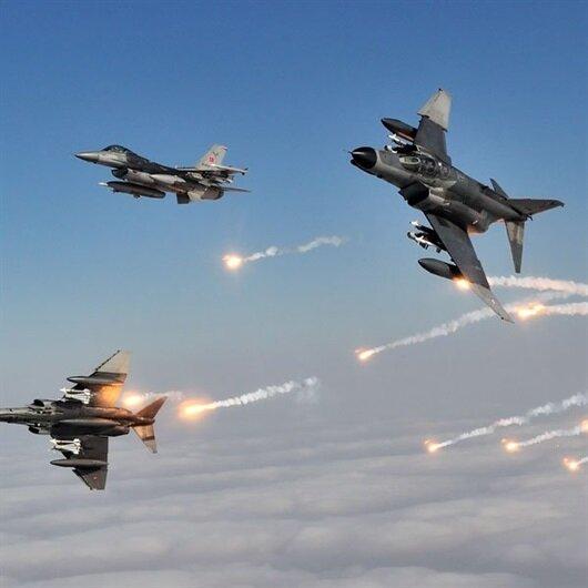 TSK'dan Gara ve Hatay'a hava harekatı: 9 terörist etkisiz