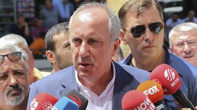 Muharrem İnce Kılıçdaroğlu'na 'yalancı' dedi