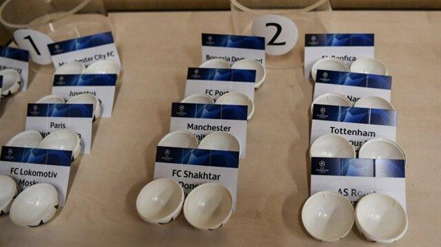 Şampiyonlar Ligi kura çekimi 19.00'da başlayacak.