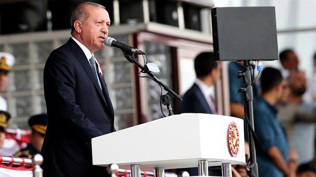 Cumhurbaşkanı Erdoğan'dan Kara Harp Okulu'nda önemli mesajlar