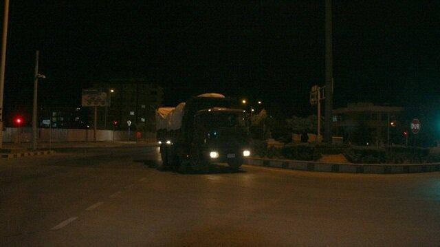 Birlikte Kilis'in Öncüpınar Sınır Kapısı üzerinden Suriye'nin Tel Rıfat ile Münbiç bölgesine hareket etti.