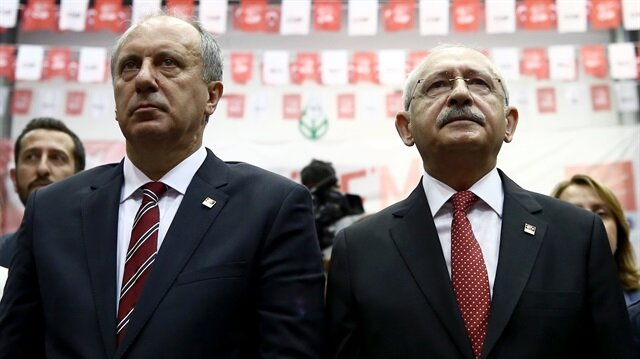 Kılıçdaroğlu ve İnce arasında 24 Haziran'dan bu yana devam eden başkanlık krizi son toplantıda da gündeme geldi.